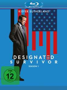 Designated Survivor Staffel 1 (Blu-ray), 6 Blu-ray Discs