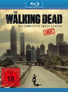 The Walking Dead Staffel 1 (Blu-ray), 2 Blu-ray Discs
