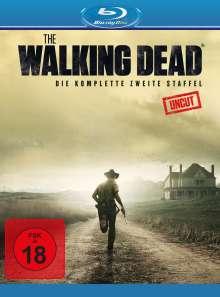 The Walking Dead Staffel 2 (Blu-ray), 4 Blu-ray Discs