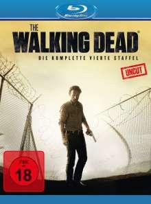 The Walking Dead Staffel 4 (Blu-ray), 5 Blu-ray Discs