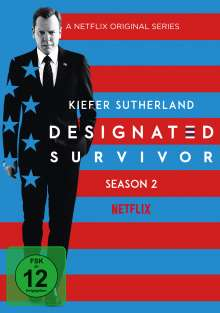 Designated Survivor Staffel 2, 6 DVDs