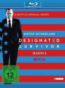 Designated Survivor Staffel 2 (Blu-ray), 6 Blu-ray Discs