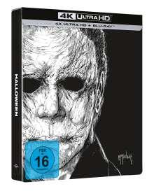Halloween (2018) (Ultra HD Blu-ray & Blu-ray im Steelbook), 2 Ultra HD Blu-rays