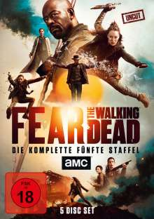 Fear the Walking Dead Staffel 5, 4 DVDs