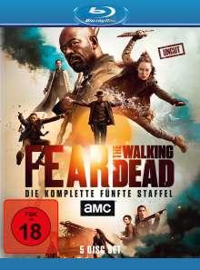 Fear the Walking Dead Staffel 5 (Blu-ray), 5 Blu-ray Discs