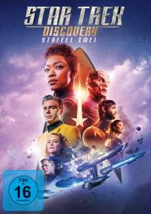 Star Trek Discovery Staffel 2, 5 DVDs