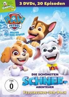 Paw Patrol: Die schönsten Schnee-Abenteuer, 3 DVDs