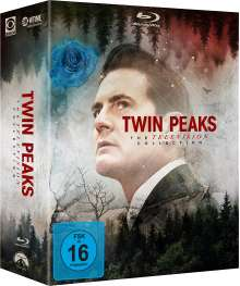 Twin Peaks: The Television Collection (Staffel 1-3) (Blu-ray), 16 Blu-ray Discs