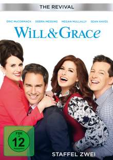 Will & Grace (The Revival) Season 2, 2 DVDs