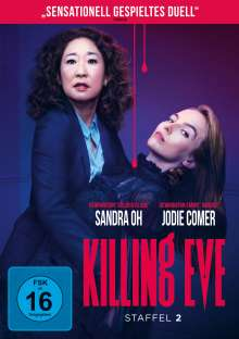 Killing Eve Staffel 2, 2 DVDs