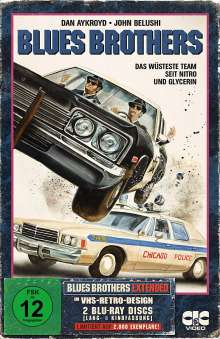 Blues Brothers (1980) (Extended Version im VHS-Design) (Blu-ray), 2 Blu-ray Discs