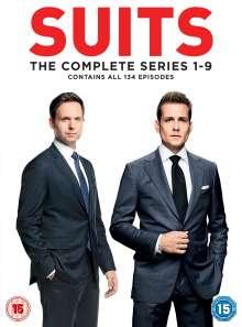 Suits Season 1-9 (UK Import), 35 DVDs