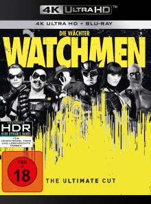 Watchmen - Die Wächter (Ultimate Cut) (Ultra HD Blu-ray & Blu-ray), 1 Ultra HD Blu-ray und 1 Blu-ray Disc