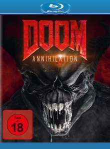 Doom: Annihilation (Blu-ray), Blu-ray Disc