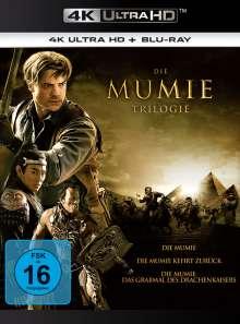 Die Mumie Trilogie (Ultra HD Blu-ray & Blu-ray), 3 Ultra HD Blu-rays und 3 Blu-ray Discs