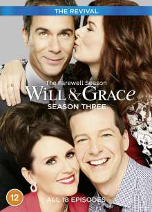 Will & Grace (The Revival) Season 3 (UK Import), 3 DVDs