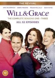 Will & Grace (The Revival) Season 1-3 (UK Import), 6 DVDs