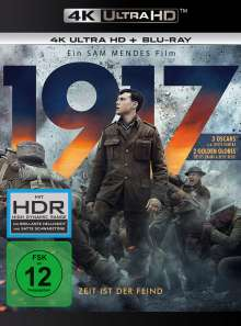 1917 (Ultra HD Blu-ray & Blu-ray), 1 Ultra HD Blu-ray und 1 Blu-ray Disc