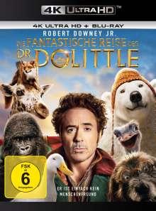 Die fantastische Reise des Dr. Dolittle (Ultra HD Blu-ray & Blu-ray), 1 Ultra HD Blu-ray und 1 Blu-ray Disc