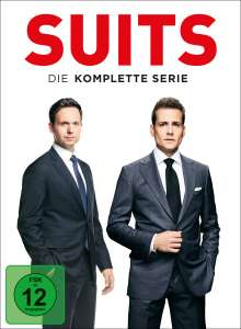 Suits (Komplette Serie), 34 DVDs