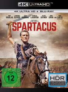 Spartacus (1960) (Ultra HD Blu-ray & Blu-ray), 1 Ultra HD Blu-ray und 1 Blu-ray Disc