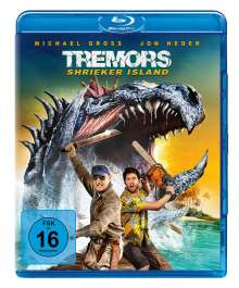 Tremors 7 - Shrieker Island (Blu-ray), Blu-ray Disc
