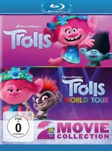 Trolls / Trolls World Tour (Blu-ray), 2 Blu-ray Discs