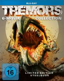 Tremors 6-Movie Collection (Blu-ray im Steelbook), 6 Blu-ray Discs