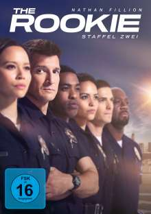 The Rookie Staffel 2, 5 DVDs