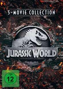 Jurassic World - 5-Movie Collection, 5 DVDs