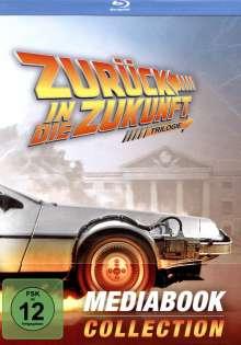 Zurück in die Zukunft I-III (Limited Mediabook Collection) (Blu-ray & DVD im Mediabook), 4 Blu-ray Discs und 3 DVDs