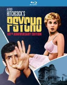 Psycho (1960) (60th Anniversary Edition) (Blu-ray) (UK Import), Blu-ray Disc