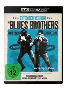 Blues Brothers (Ultra HD Blu-ray & Blu-ray), 1 Ultra HD Blu-ray und 1 Blu-ray Disc