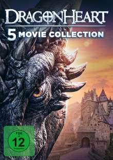 Dragonheart 1-5, 5 DVDs