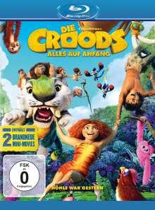 Die Croods - Alles auf Anfang (Blu-ray), Blu-ray Disc