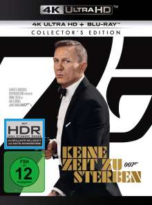 James Bond: Keine Zeit zu sterben (Ultra HD Blu-ray & Blu-ray), 1 Ultra HD Blu-ray und 1 Blu-ray Disc