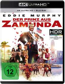 Der Prinz aus Zamunda (Ultra HD Blu-ray & Blu-ray), 1 Ultra HD Blu-ray und 1 Blu-ray Disc