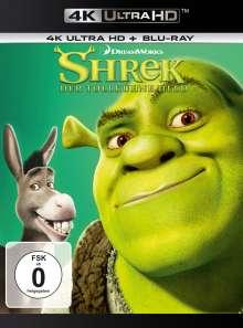 Shrek - Der tollkühne Held (Ultra HD Blu-ray & Blu-ray), 1 Ultra HD Blu-ray und 1 Blu-ray Disc