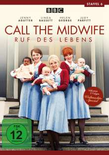 Call The Midwife Staffel 6, 3 DVDs