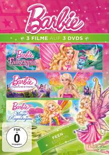 Barbie: Feen Edition, 3 DVDs