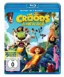 Die Croods - Alles auf Anfang (3D & 2D Blu-ray), 2 Blu-ray Discs