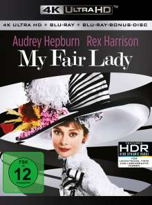 My Fair Lady (Ultra HD Blu-ray & Blu-ray), 1 Ultra HD Blu-ray und 1 Blu-ray Disc
