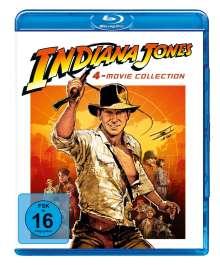 Indiana Jones 1-4 (Blu-ray), 4 Blu-ray Discs