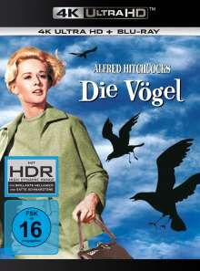 Die Vögel (Ultra HD Blu-ray & Blu-ray), 1 Ultra HD Blu-ray und 1 Blu-ray Disc