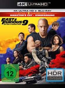 Fast & Furious 9 - Die Fast & Furious Saga (Ultra HD Blu-ray & Blu-ray), 1 Ultra HD Blu-ray und 1 Blu-ray Disc