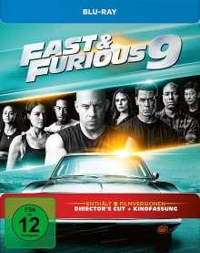 Fast & Furious 9 - Die Fast & Furious Saga (Blu-ray im Steelbook), Blu-ray Disc