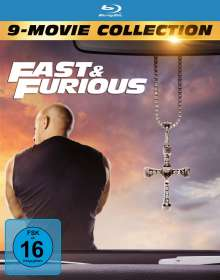 Fast & Furious (9-Movie Collection) (Blu-ray), 9 Blu-ray Discs