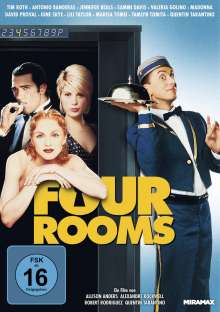 Four Rooms, DVD