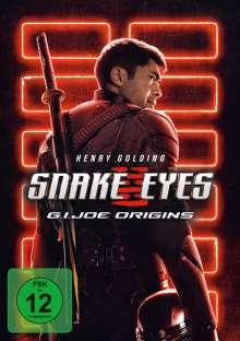 Snake Eyes: G.I. Joe Origins, DVD