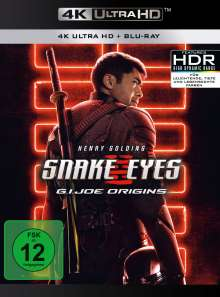 Snake Eyes: G.I. Joe Origins (Ultra HD Blu-ray & Blu-ray), 1 Ultra HD Blu-ray und 1 Blu-ray Disc